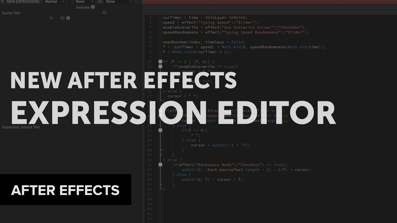 Creative Dojo Looks at the New Expression Editor in After Effects