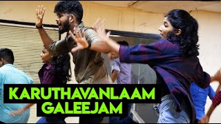 Karuthavanlaam Galeejam | The Crew Dance Company Choreography | Dance Workshop