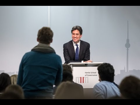 Ed Miliband: Britain and Europe after Brexit