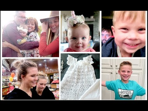 Baby Unicorn, DIY Tomato Juice, Layla's Blessing and Family Pictures!! Weekly Vlog!!