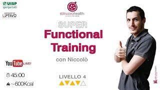 Functional Training - Livello 4 - 5  (Live)
