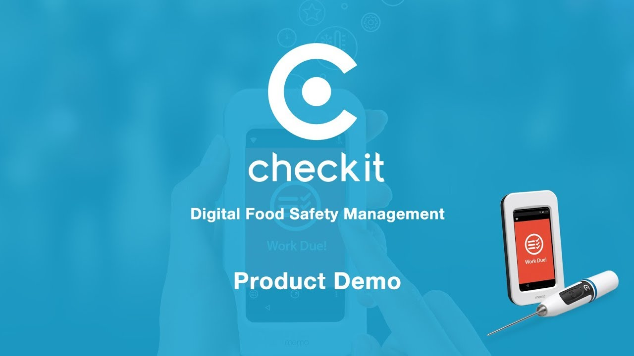 Checkit Haccp Compliance SFBB Digital Food Safety Management system