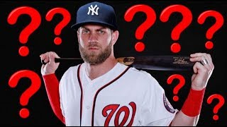 10 Best Free Agent Destinations for Bryce Harper