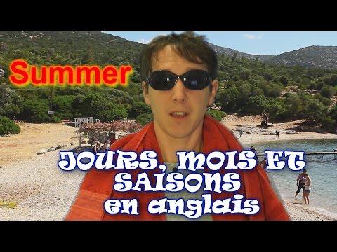 Apprendre langlais avec Huito # 6: Les jours, mois et saisons