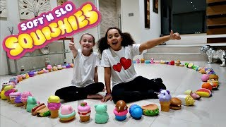 Giant Squishy Food Vs Real Food Challenge Toys Andme
