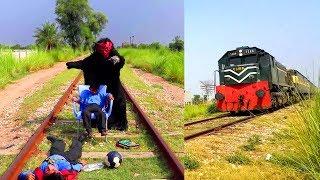 Shaitan Vs Kids   Social Awareness Video   Shaitan Vs Train   Shaitan Vs Muslim Childs