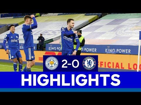 Foxes Go Top Of The Premier League | Leicester City 2 Chelsea 0 | 2020/21