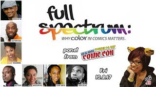 Full Spectrum: Why Color Matters in Comics panel at NYCC2017