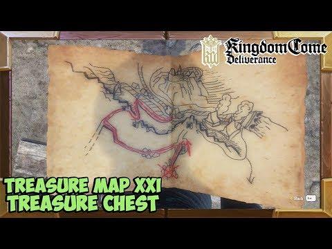 Kingdom Come Deliverance Treasure Map 21 Treasure Location