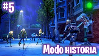 EXPEDITION IN THE CITY! FORTNITE: Saving the #5 World