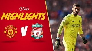 Alisson save helps Reds go top | Man United 0-0 Liverpool | Highlights