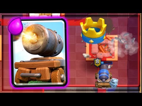 Clash Royale - I LOVE THE CANNON CART!