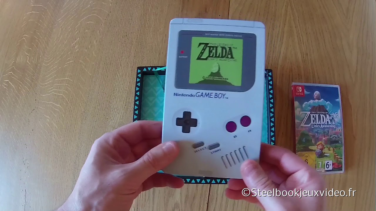 First Unboxing Video Of The Legend Of Zelda Link S