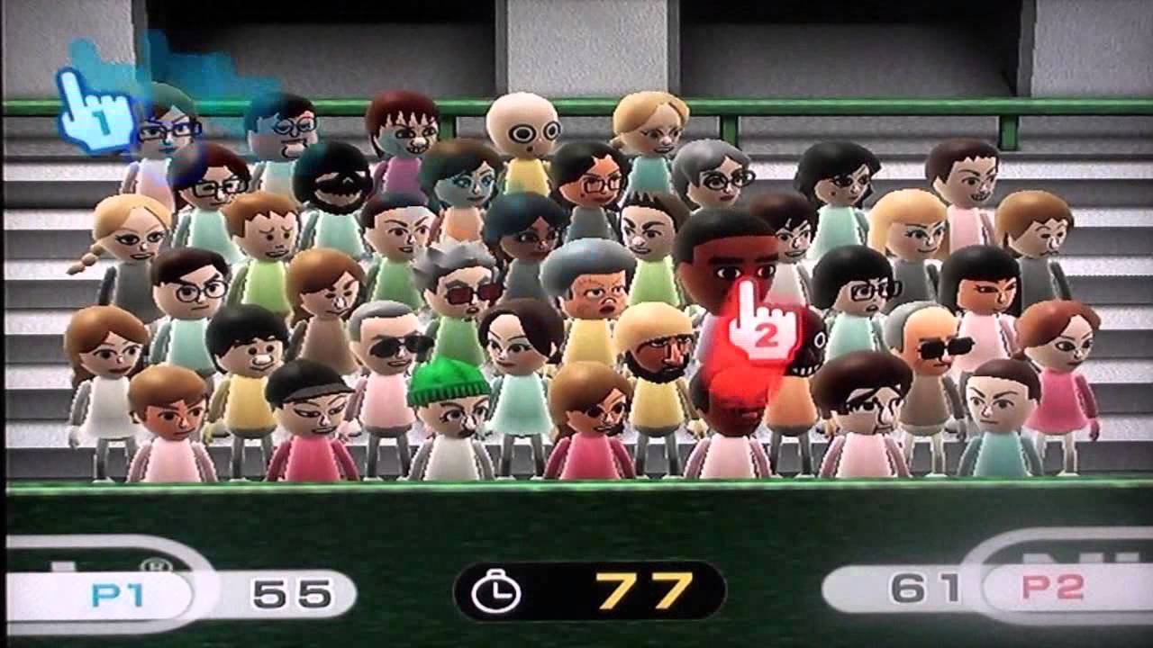 Wii play find mii final level