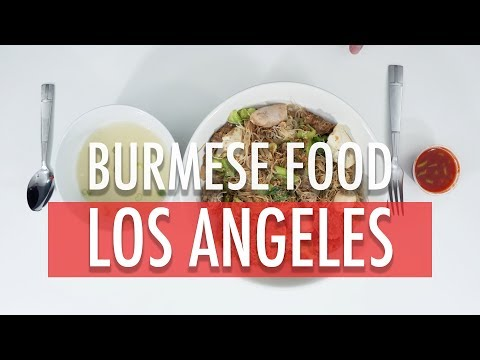 MUKBANG/FOOD REVIEW: BURMESE FOOD!