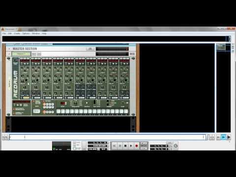 Redrum Drum Machine Reason EssentialsTutorial 2 Part 1