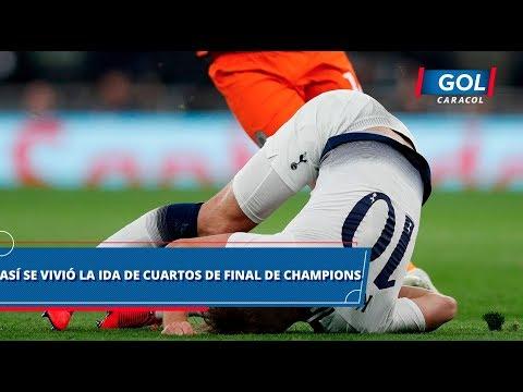Así se vivió la jornada de este martes en los cuartos de final de Champions League | Gol Caracol