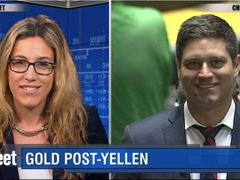 Gold Finds Footing Post-Yellen; Ends Day Slightly Higher
