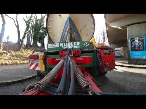 360° VR Doku: Ein Dampfschiff strandet in München (die MS Utting zieht auf die Lagerhausbrücke) 4K