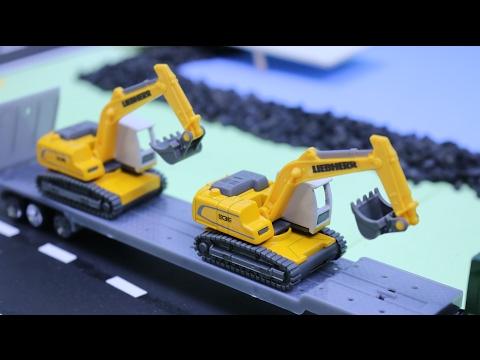 เรียนรู้รถก่อสร้าง Learn Vehicles - Cars & Trucks for Kids รถบรรทุก รถดั้ม รถตักดิน