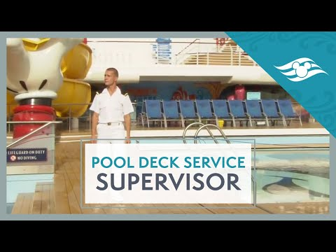 Pool Deck Service Supervisor - Disney Cruise Line Jobs