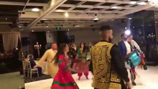 Beautiful Attan By Afghan Boys And Girls in Wedding 2018