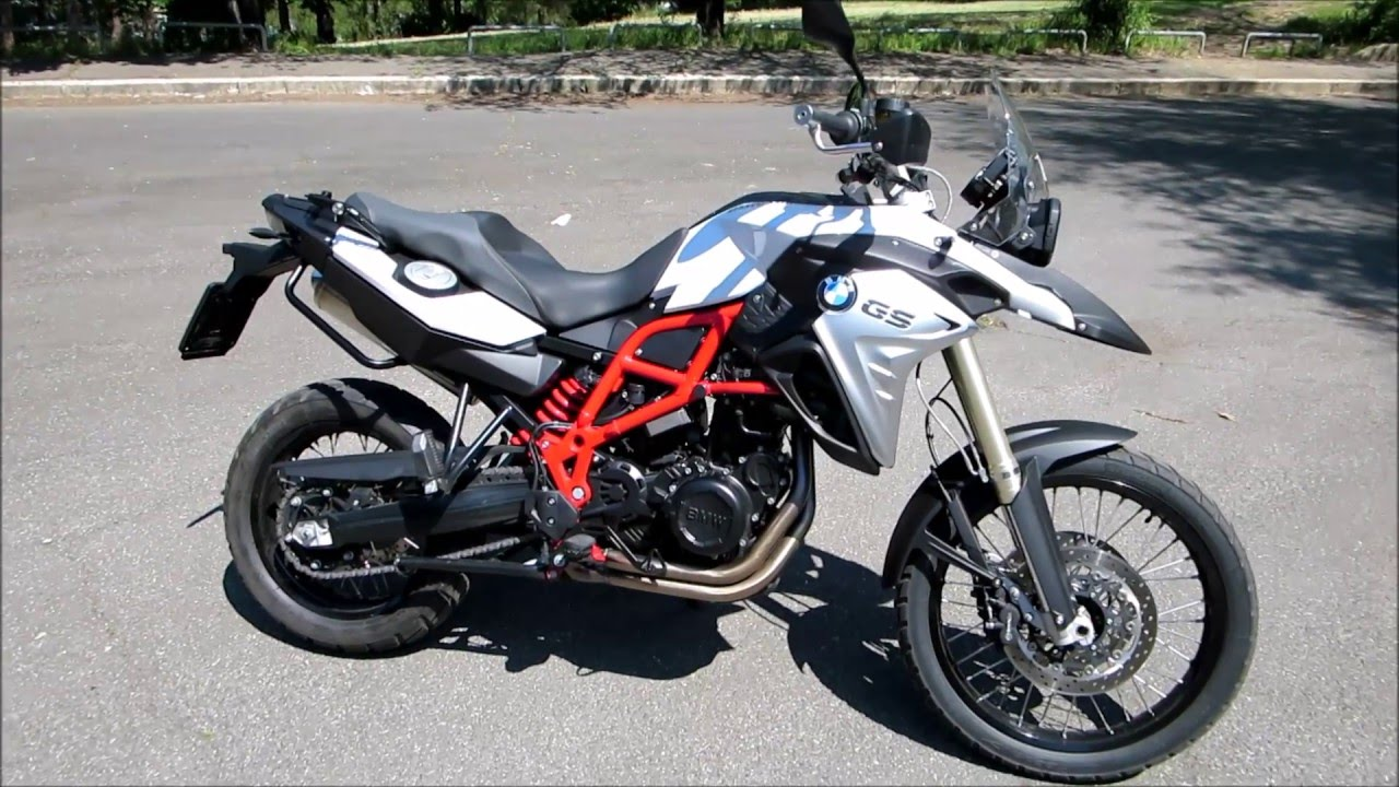 2016 bmw f 800 gs start up and sound youtube. Black Bedroom Furniture Sets. Home Design Ideas