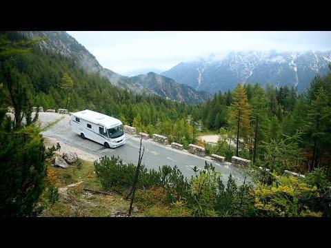 Kranjska Gora och Škocjangrottornas – Gone Camping upplever slovenska Alperna högt och lågt