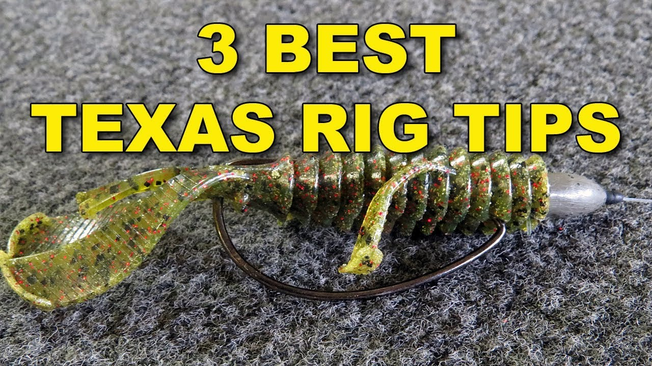The best texas rig tips because they work bass for Texas rig bass fishing