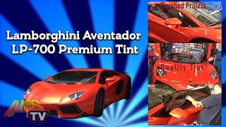 Lamborghini Aventador LP-700 Premium Tint Project 407
