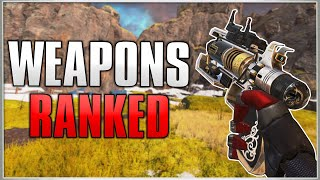 RANKING EVERY WEAPON In Apex Legends Season 4