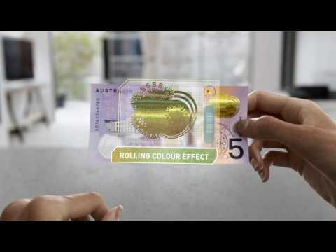 Next generation of Australian banknotes: New $5 (60 second video)
