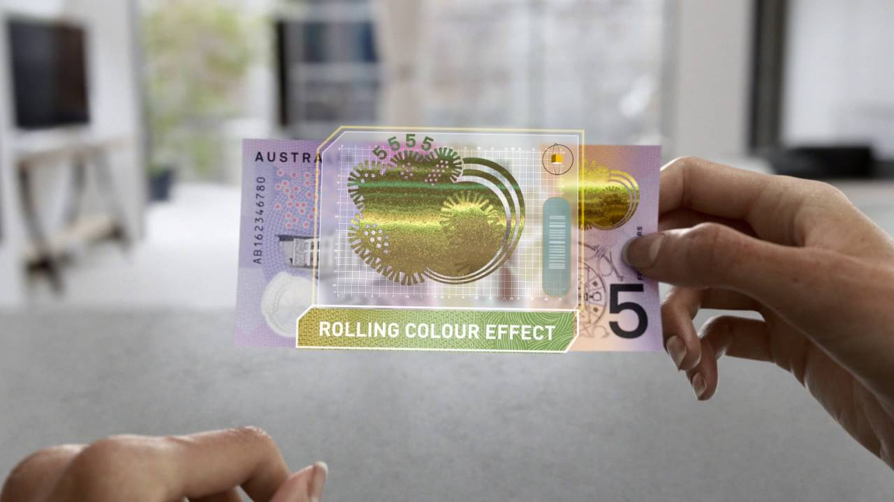 Next Generation Of Australian Banknotes New 5 60 Second Video You