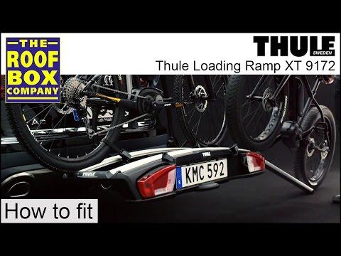 Thule Heckträger Loading Ramp XT 9172 für Kupplungsträger VeloSpace XT