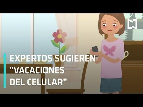 Uso de celular en niños; daños y dependencia frente al celular - A las Tres