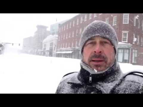 Winter Storm Juno in South End, Boston