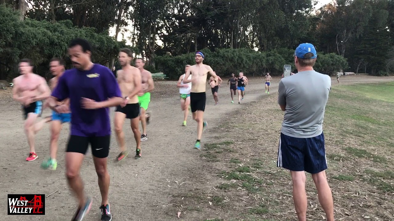 Tuesday Workout | 7x1200m at Polo Fields