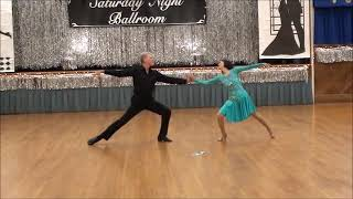 Selina Tsang and Bill Anderson Rumba