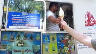 Mr Softee ice cream man. The power of text!