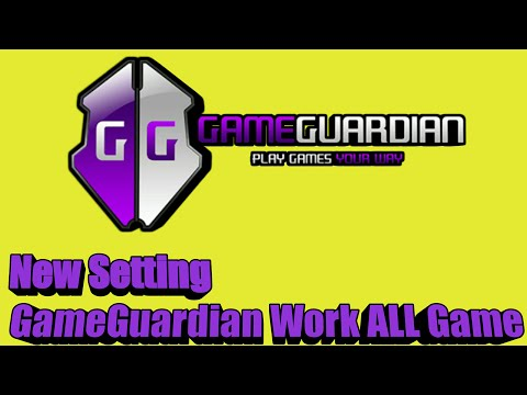 Setting GameGuardian New Hack ALL Game Work 2019