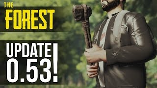 NEW UPDATE! Hammer, Leather Jacket, Horde Mode Still Works! The Forest
