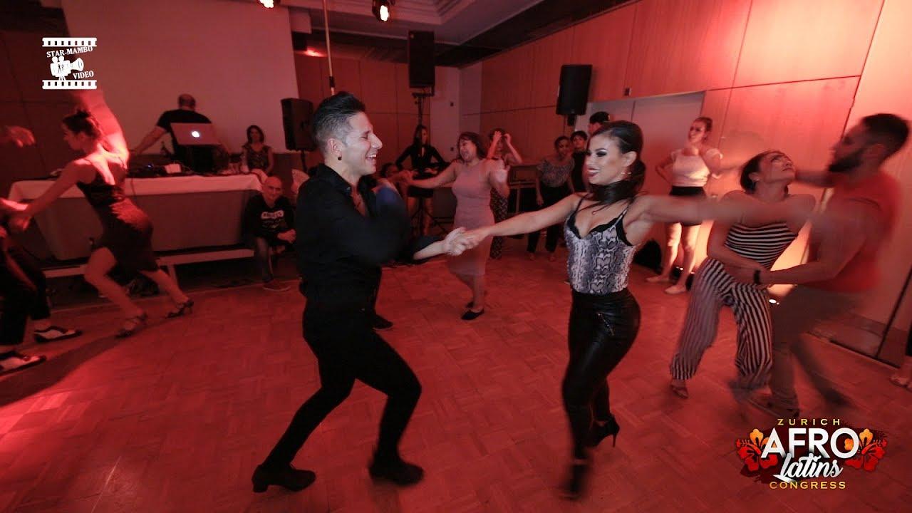 Rodrigo Cortazar & Myrto - social dancing @ Zurich Afrolatins congress