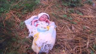 Wickedness!!! 3 week old baby girl abandoned rescued in Ilesa, Osun state