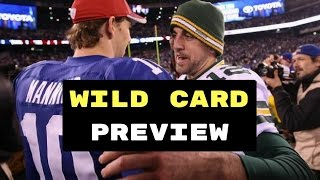 NFL Wild Card Preview and Predictions | NFL 2017 Picks