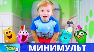 Мой говорящий Том 2 и KuSaNiKi - смешная история в туалете