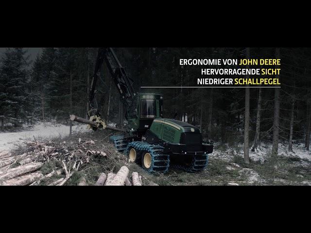 Der neue 1170G 8-rad Harvester