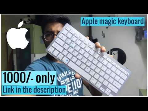 Apple Magic Keyboard 🔥 only at 1000/-... link in the description😱