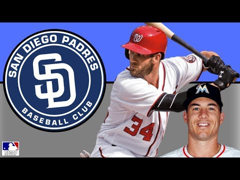 BRYCE HARPER to the Padres? JT Realmuto + Corey Kluber Trade Rumors