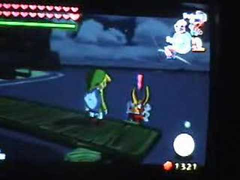 Legend of Zelda Wind waker bloopers NDL FLK