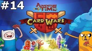 Guerra de Cartas #14 : Jake e Finn Mais Forte ( Card Wars )